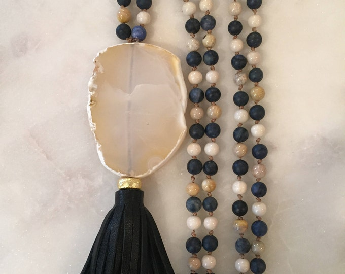 Blue Harmony Mala | Necklace