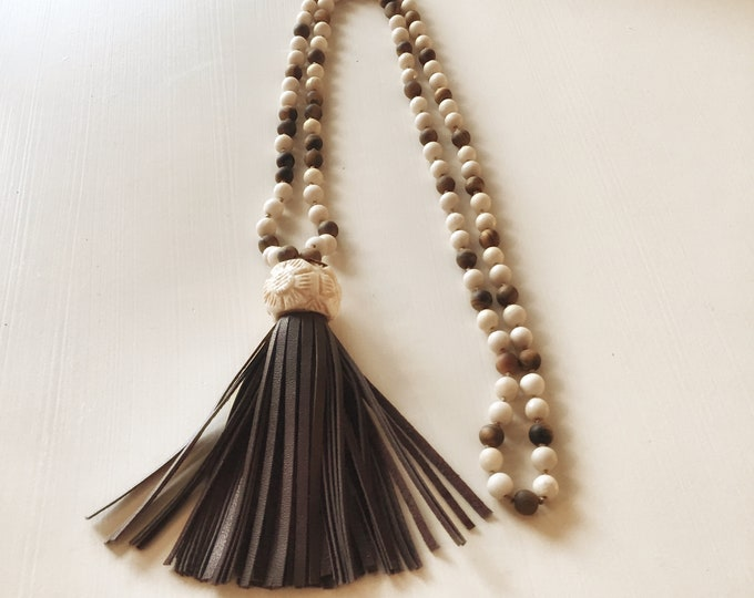 Sun & Earth Mala | Necklace
