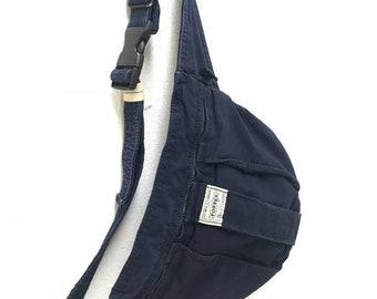 Made in Japan Porter Mini Waist Bag Quick Pocket Indigo Dyed Blue Porter  bagpack head porter bag e7dd17f390