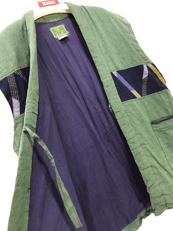 Made in Japan Vintage Hanten Vest Jacket Padding W