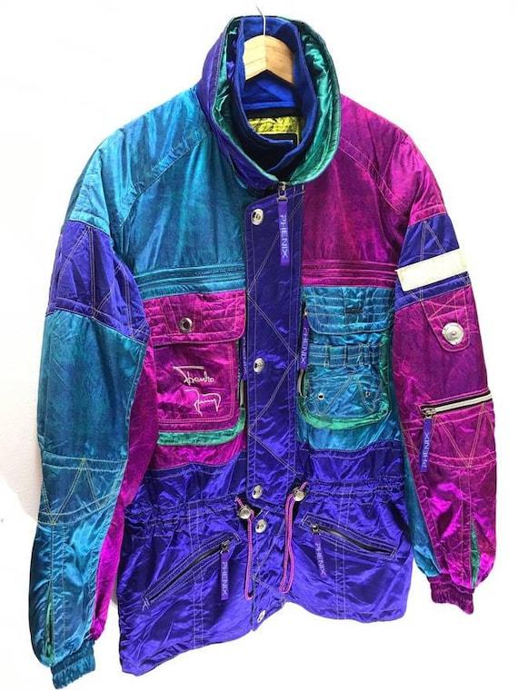 Japan Brand Phenix Ski Jacket Fish Tail Multi Colour