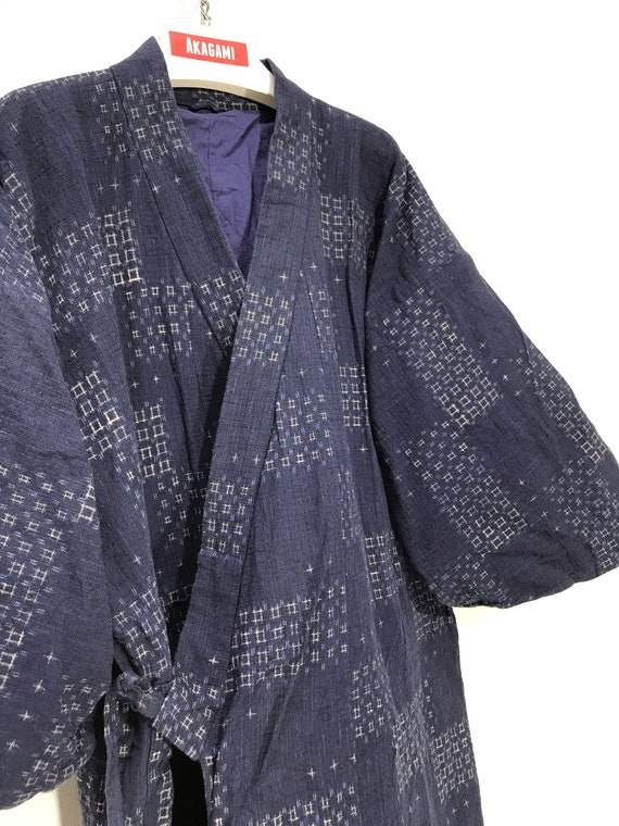 Made in Japan Vintage Woven Cotton Padding Jacket