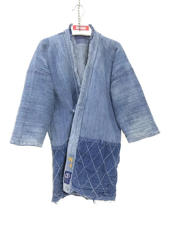 Made in Japan Vintage Kendo Noragi Jacket Indigo F