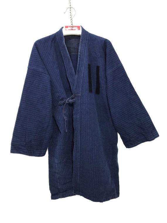 Made in Japan Vintage Kendo Noragi Jacket Indigo B