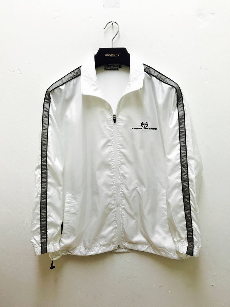 43bbeca03e Sergio Tacchini Jacket Vintage 90s Rare Sergio Tacchini