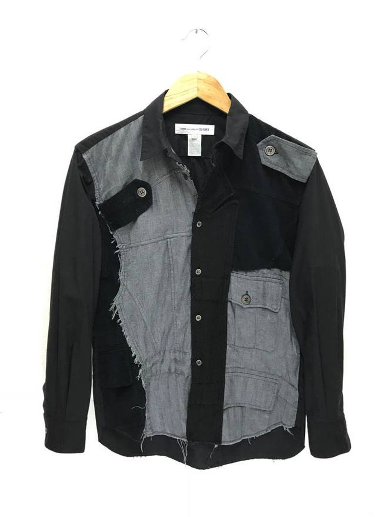 26798b88bdc Made in Japan CDG Comme Des Garcons Shirt Patchwork Corduroy