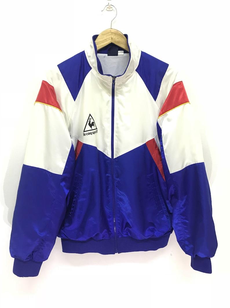 68b24a7bd251 Le Coq Sportif Padding Jacket Vintage 90s Rare Le Coq Sportif