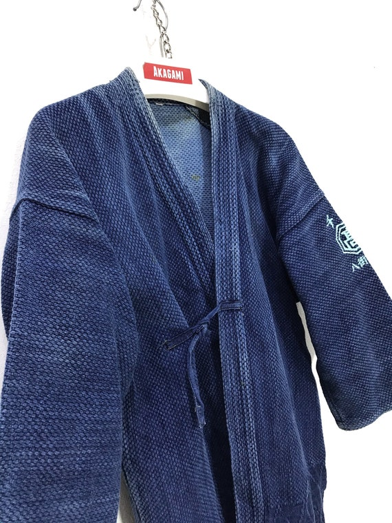 Made in Japan Vintage Kendo Noragi Jacket Indigo B