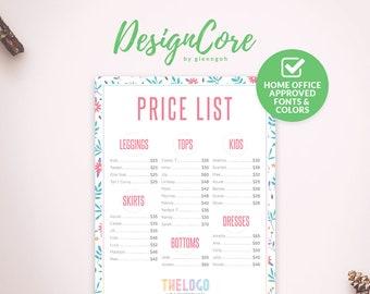 Lularoe Price List Etsy - Lularoe map pricing