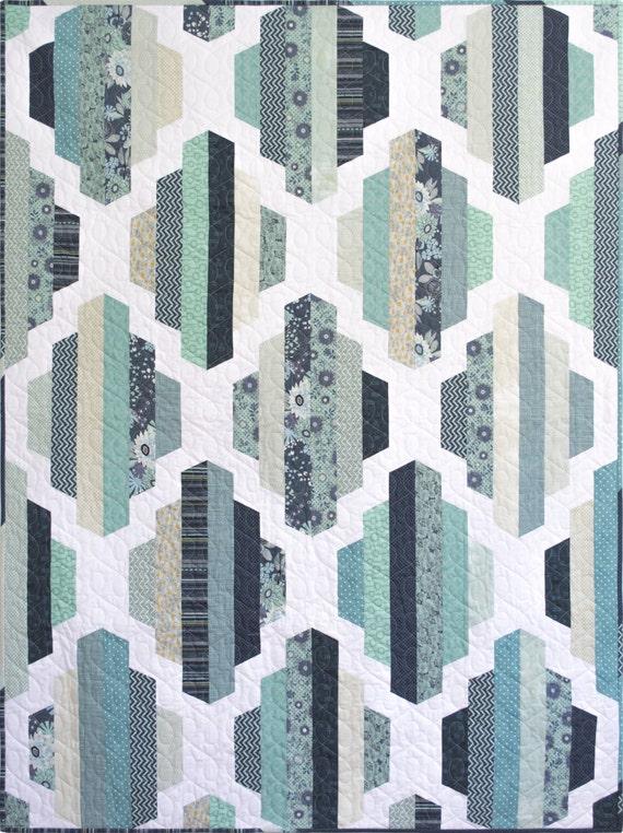 Modern Quilt Pattern Pdf Instant Download Garden Lattice