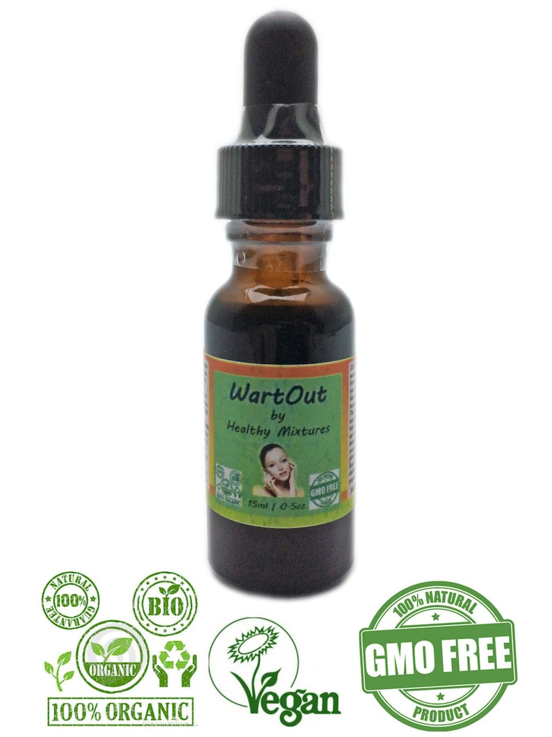 Organic Natural Warts Removal Balsam Lotion image 0