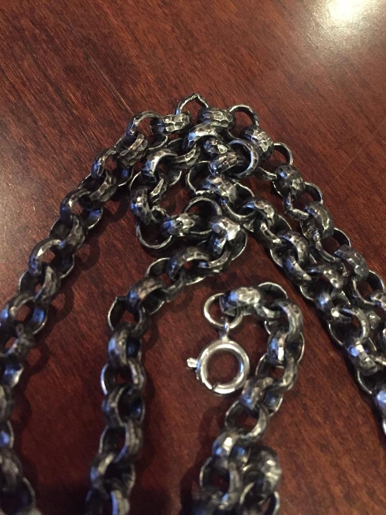 Blackened chain