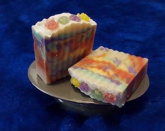 Rainbow Rose Bush Soap
