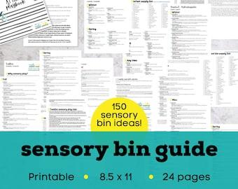 Sensory activities, sensory bin kit, sensory bins, sensory gifts, kids sensory toys, sensory play, kids sensory kit, kids sensory table