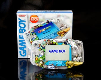 PRE-ORDER Studio Ghibli GBA | Custom Backlit Nintendo Game Boy Advance