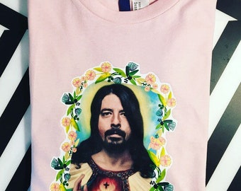 Dave Grohl-Holy Grohl unisex cotton t-shirt. All sizes available