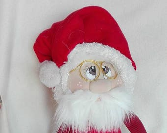 Tutorial pattern Santa Claus complete with step by step instructions with possibility to have also materials with request apart