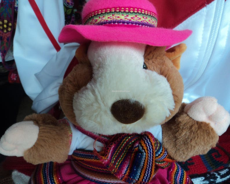 77222e29439b5e Cuy with 100% alpaca Andean clothing made in Peru ideal for   Etsy