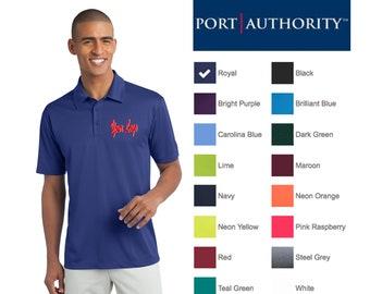 9375f509 Port Authority® Silk Touch™ Polo k540 / Custom Polo / Embroidery Polo /  Monogram Polo