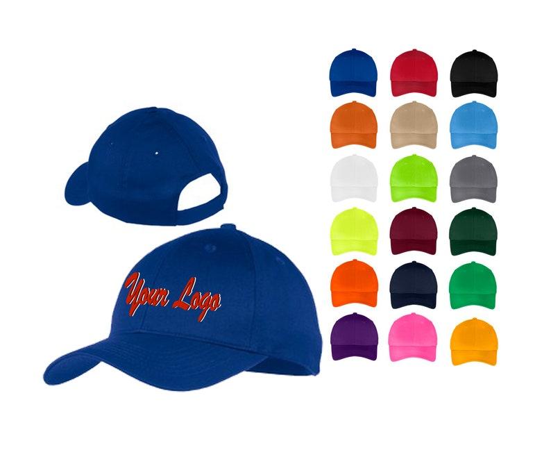 041f7b38bb597 Port   Company® Six-Panel Twill Cap-CP80   Custom Hats