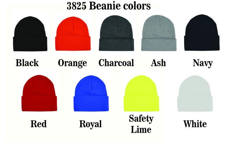 7f243630ae5 Marijuana on a Bayside USA-Made 12 Knit Beanie 3825