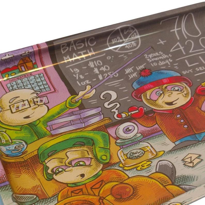 Dunkees /'Life Lesson/' Tray Original Art