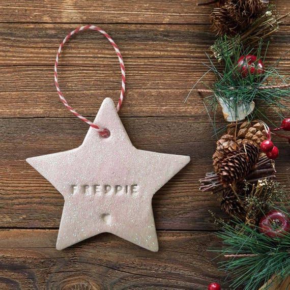 Personalised Christmas Decoration Custom Christmas Etsy