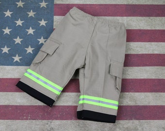 Baby Firefighter TAN Turn-out Gear Pants