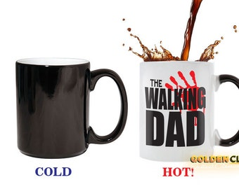 The Walking Dad Color Change Coffee Mug Father's Day