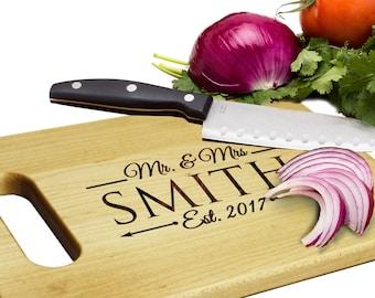 Custom Cutting Board, Personalized Cutting Board, Personalized Maple Cutting Board, Housewarming Gift, Personalized Wedding Gift, Wood Board