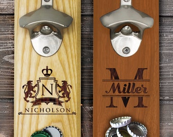 Wall Bottle Opener Etsy