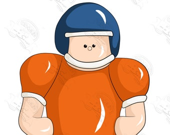 Football Player Colored