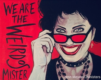 Nancy; The Craft movie; the craft legacy; Witch print; Halloween art; scream queen; bad girl; We are the weirdos mister