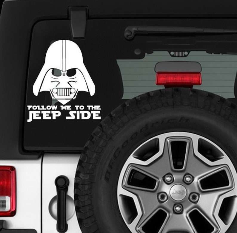 DODGE VADER Star Wars Dark Side Darth Vader Car Vinyl Sticker Decal