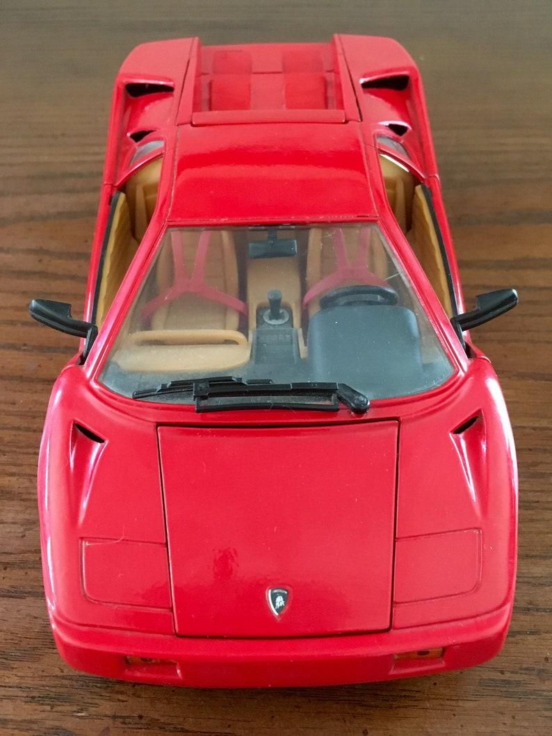 Lamborghini Countach 1 18 Scale Die Cast Metal Special Edition Etsy