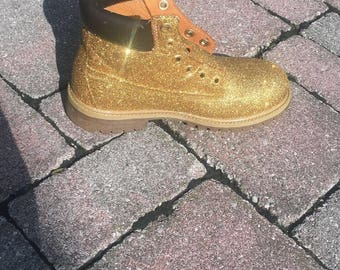 Glitter Timberland Boots (New or Restored)