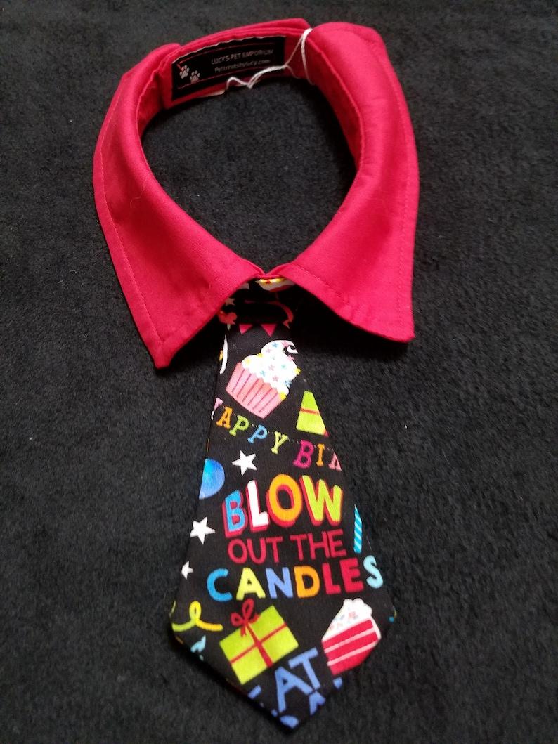 Red Happy Birthday Necktie