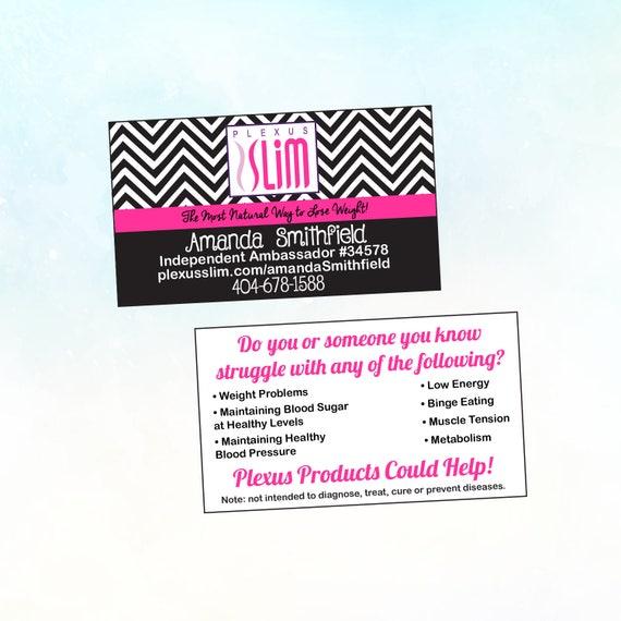 Plexus chevron business cards plexus business cards plexus colourmoves