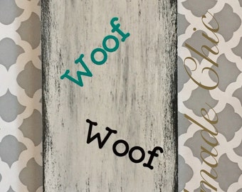 Wood dog leash holder board, dog station, dog organizer, leash holde, dog accesories, leash hook, leash rack, wood sign,