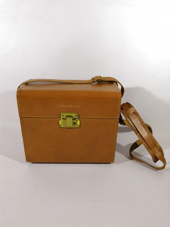 Polaroid bag , vintage polaroid bag , polaroid box