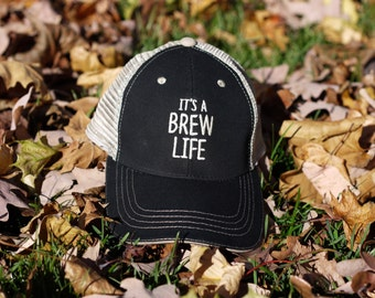 CRAFT BEER HAT, Beer Lover Gift, Father's Day, Beer Gift, Beer Fest, Baseball Cap, Outerwear, Beer Hat, Beer, Gift Ideas, ItsABrewLife