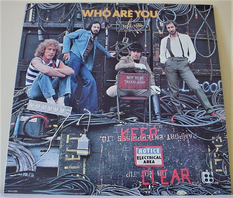 The Who Who Are You 12 Vinyl Lp Record Album Etsy