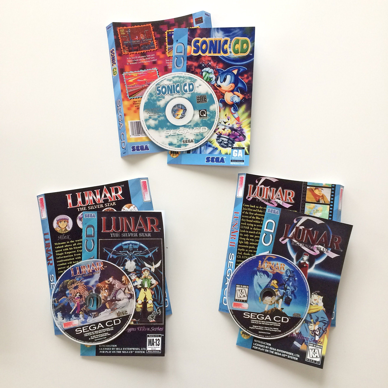 Single Disc Long Box CD-ROM Games - Sega Saturn/Sega CD/PS1 - You Choose  the Title
