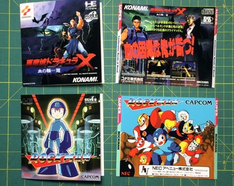 Jewel Case Inserts - For PC Engine, TurboGrafx-16, Dreamcast, Playstation, Saturn, Sega CD, Ect. - You Choose the Title
