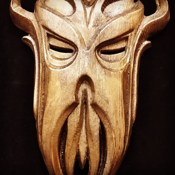 Miraak mask miniature TES The Elder Scrolls V: Skyrim