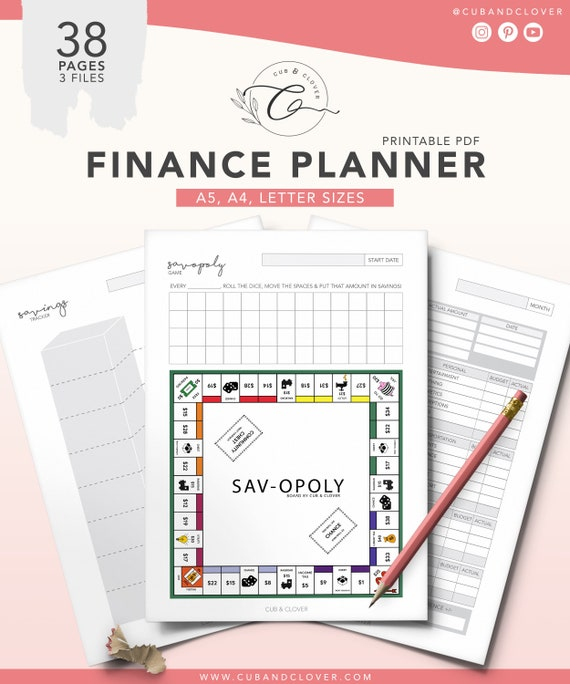 photograph regarding Bill Chart Printable known as FINANCE PLANNER Printable Spending budget Planner, Credit card debt Invoice Tracker, Month to month Monthly bill Tracker, Discounts Chart, Cost and Paying Tracker