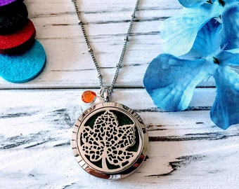 Oil Diffuser Locket, Aromatherapy Necklace, Diffuser Locket, Essential Oils Necklace, Meditation and Healing Jewelry, Mother's Day Gift