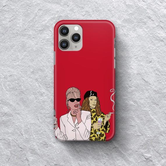 Patsy & Eddie iPhone Case