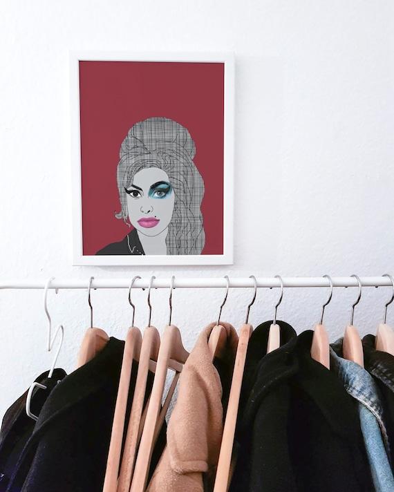 Amy Winehouse Print