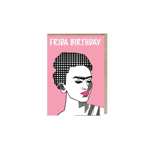 Frida Birthday Card